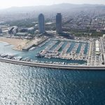 La Barceloneta ve Port Olimpic