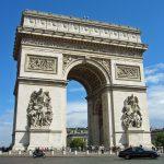 Zafer Takı, Arc de triomphe Paris