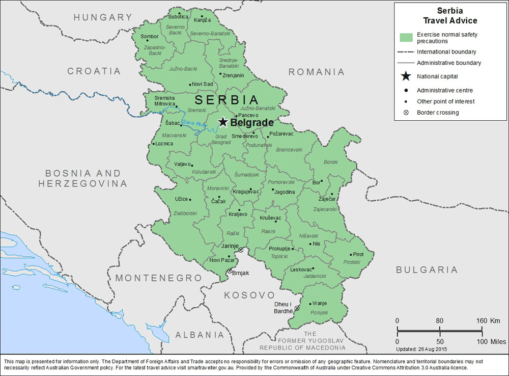Serbia Neresi, Hangi Ülke, Türkçesi, İngilizcesi Ne Demek