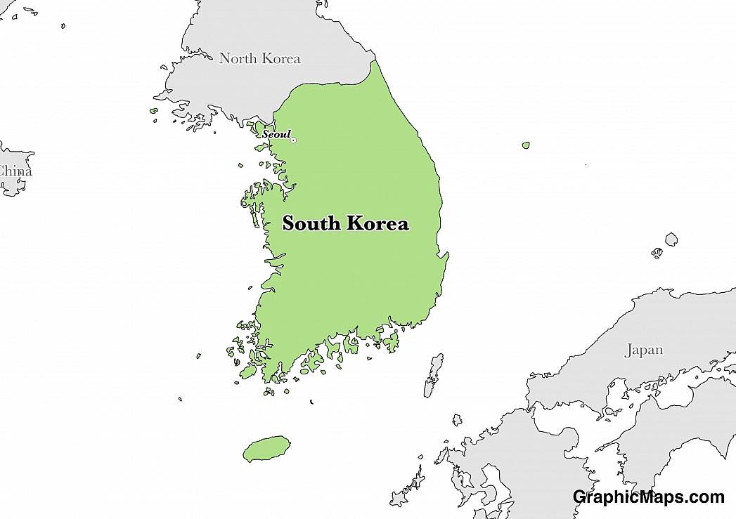 South Korea Neresi, Hangi Ülke, Türkçesi, İngilizcesi Ne Demek