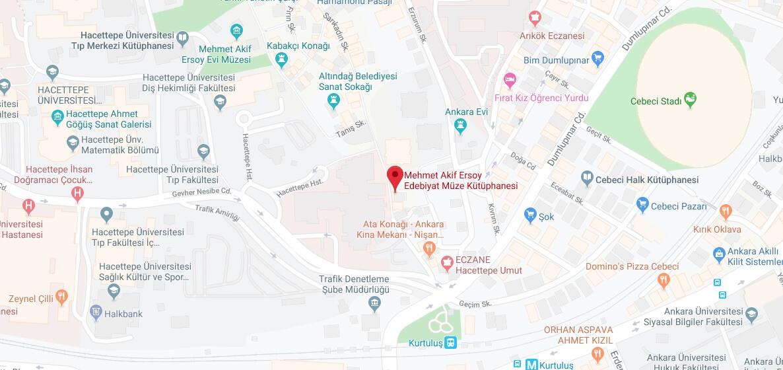 Mehmet Akif Ersoy Edebiyat Müze Kütüphanesi Nerede, Nasıl Gidilir?